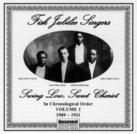 Fisk Jubilee Singers Volume 1 Swing Low  The Document Records Store