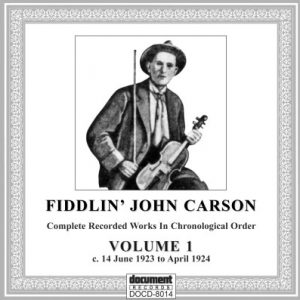 Fiddlin' John Carson