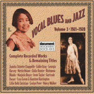 DOCD  Vocal Blues And Jazz Vol  Document Store