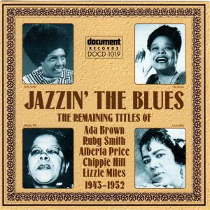 DOCD  Jazzin The Blues Cover full size