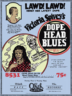 Dope Head Blues Poster