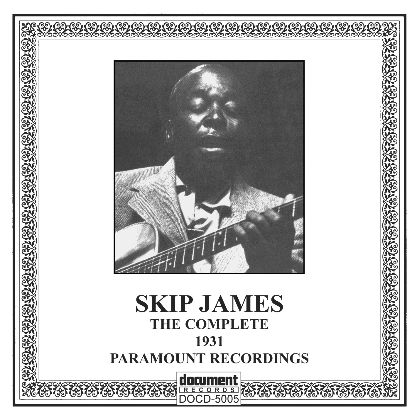 DOCD-5005 Skip James .The Complete Paramount Recordings 1931