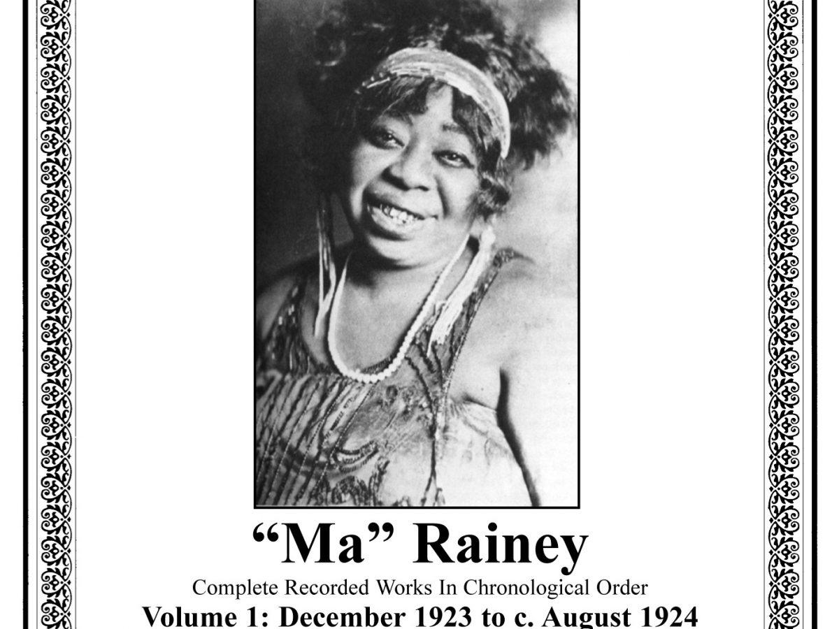 c.1923 Ma Rainey